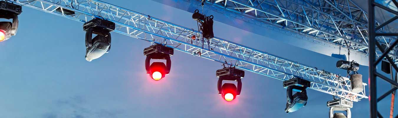 stage lighting and hoist motors
